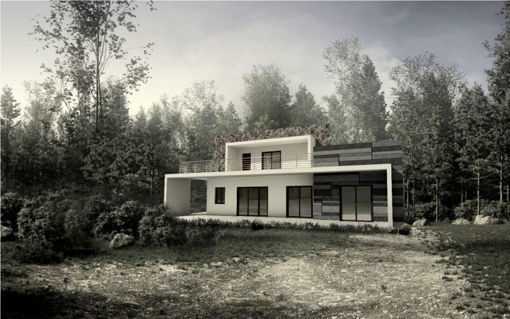 Proposed Villa in Himalayas