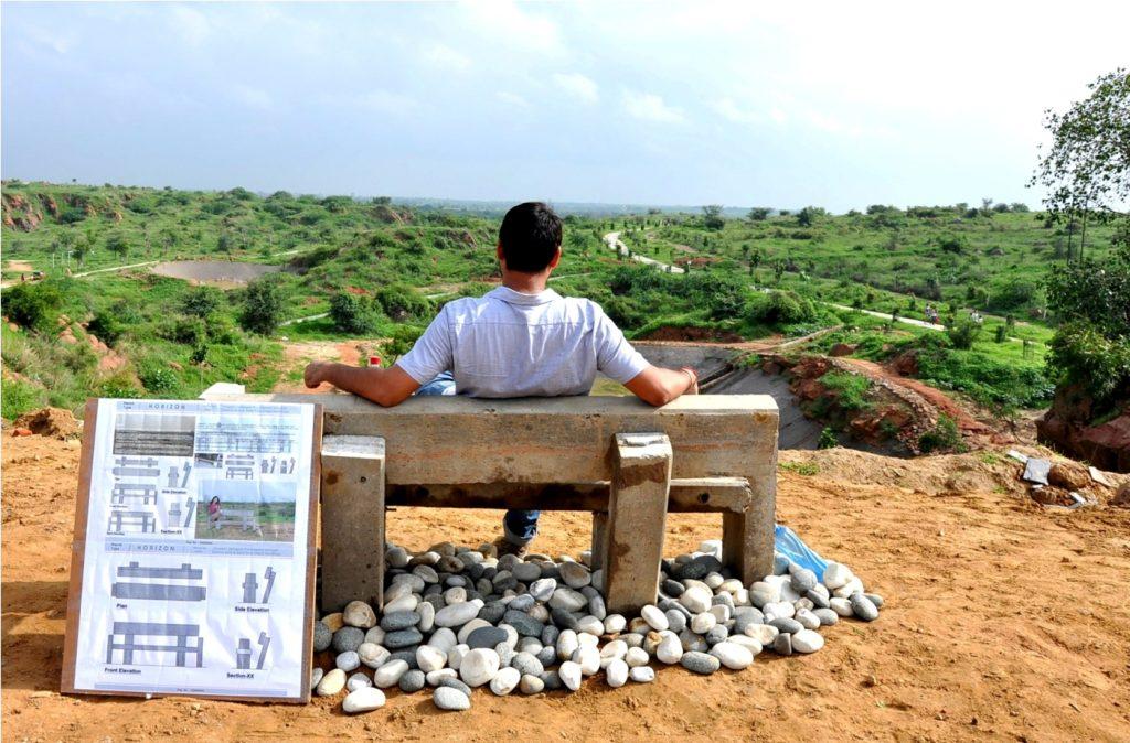 Eco-Bench Biodiversity Park – Gurugram